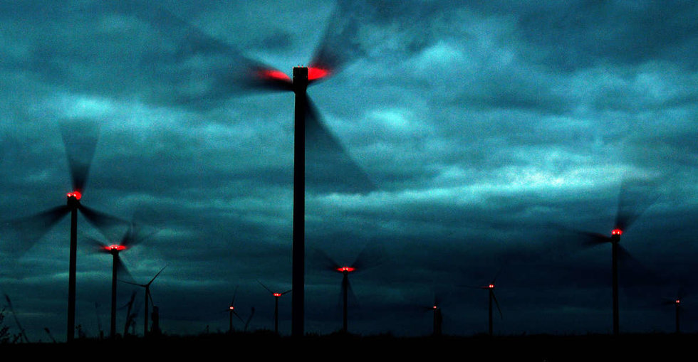 There Was So Much Wind In Germany Last Weekend That Electricity Was Free