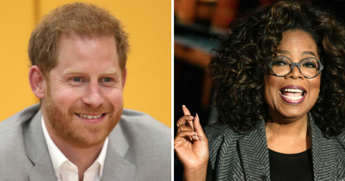 Prince Harry and Oprah Winfrey are joining forces on a new