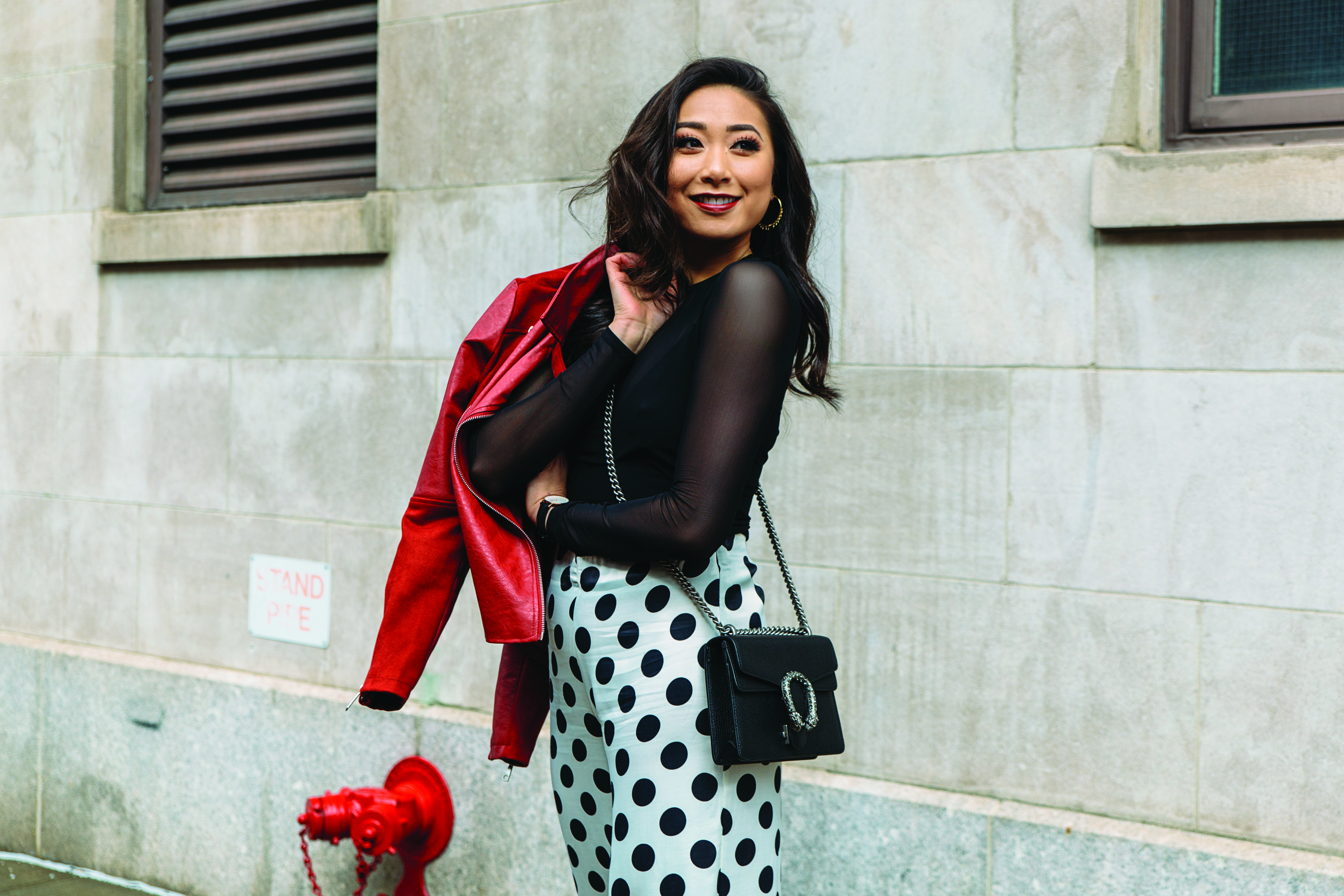 Complexions' Resident Fashionista Candy Tong Sports Swimwear in the Studio and Heels on the Street