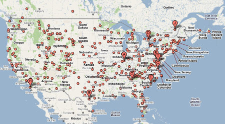 us map of koa campgrounds Are Rv Parks Our Best Electric Car Charging Network Good
