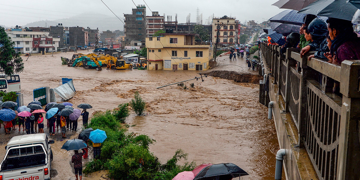 90 Dead, 1 Million Displaced by Monsoon Flooding in India and Nepal