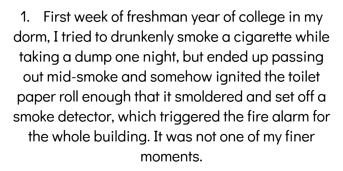 College Students Share Their Most Unforgettable Fire Alarm Stories