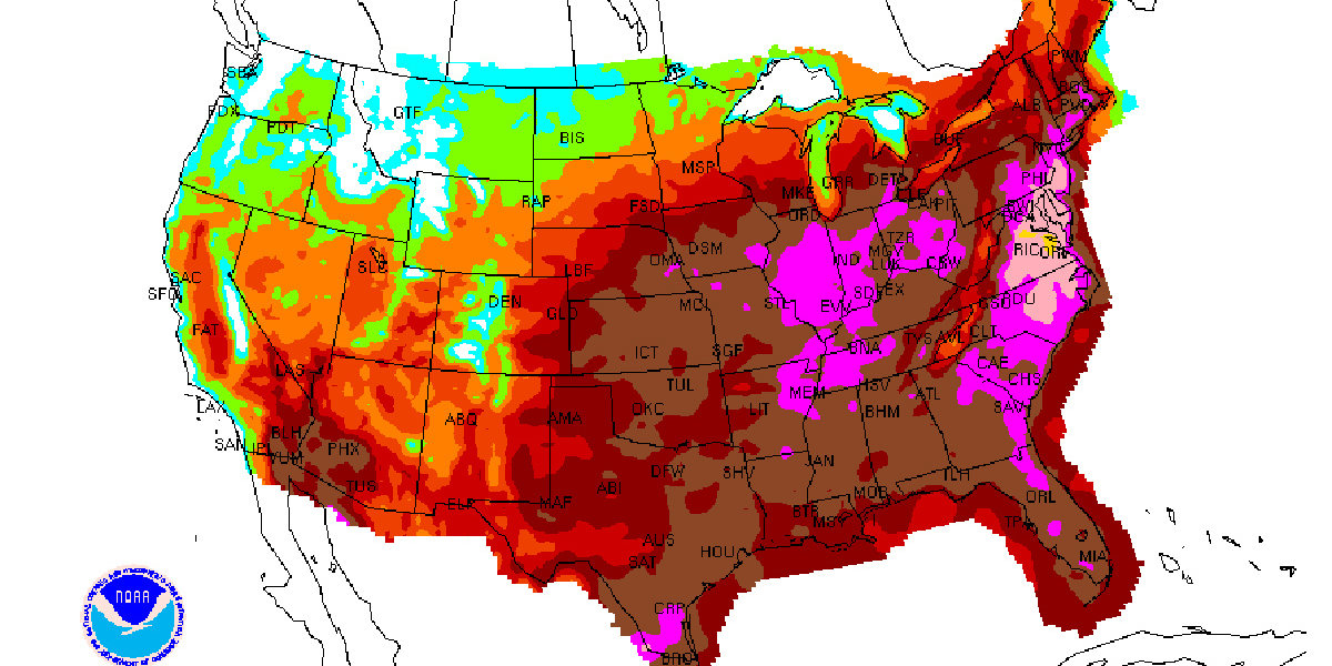 50 Million Americans Are Currently Living Under Some Type of Heat Warning