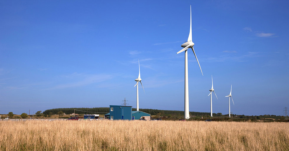 Scottish Wind Power Is So Efficient, It Could Power Two Scotlands