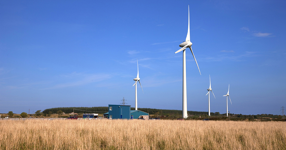 Scottish Wind Power Is So Efficient It Could Power Two Scotlands