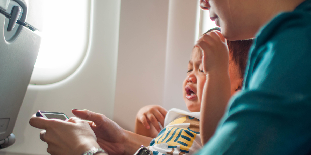 I stopped judging parents on planes after I became a mom