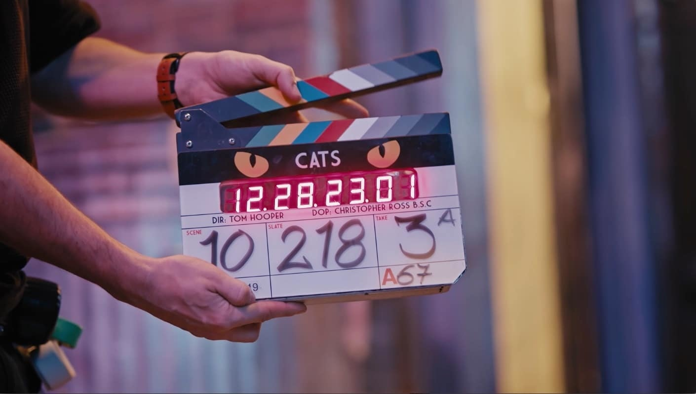 """Watch Taylor Swift Dance with Idris Elba in This Behind-the-Scenes """"Cats"""" Footage"""
