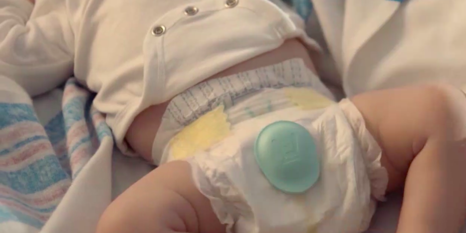 Pampers is launching new 'smart diapers' that will tell you when the baby needs to be changed