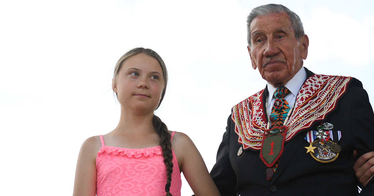 Greta Thunberg Awarded Normandy s First Freedom Prize