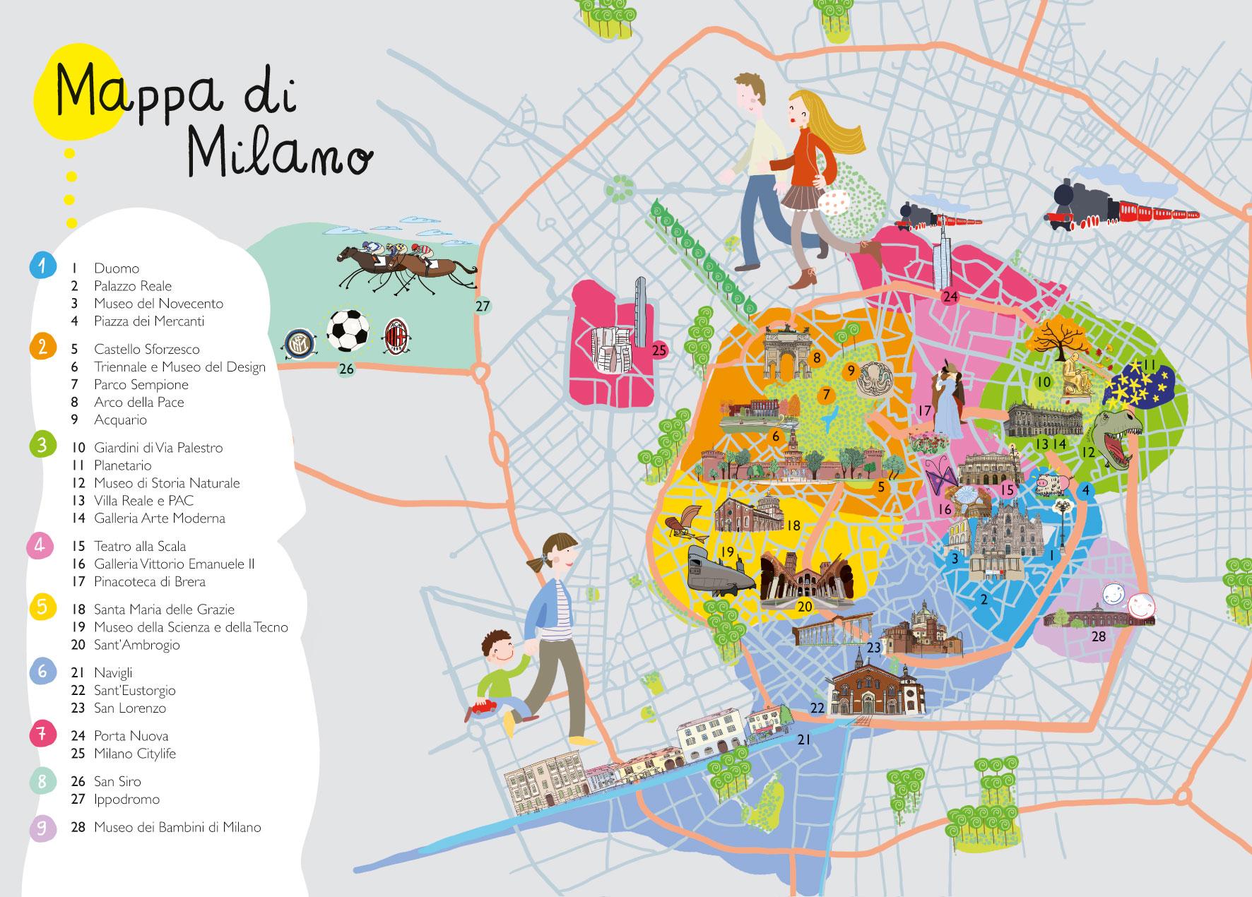 Cartina Di Milano Per Bambini.6 Guide Turistiche Per Bambini Viaggiatori Panorama