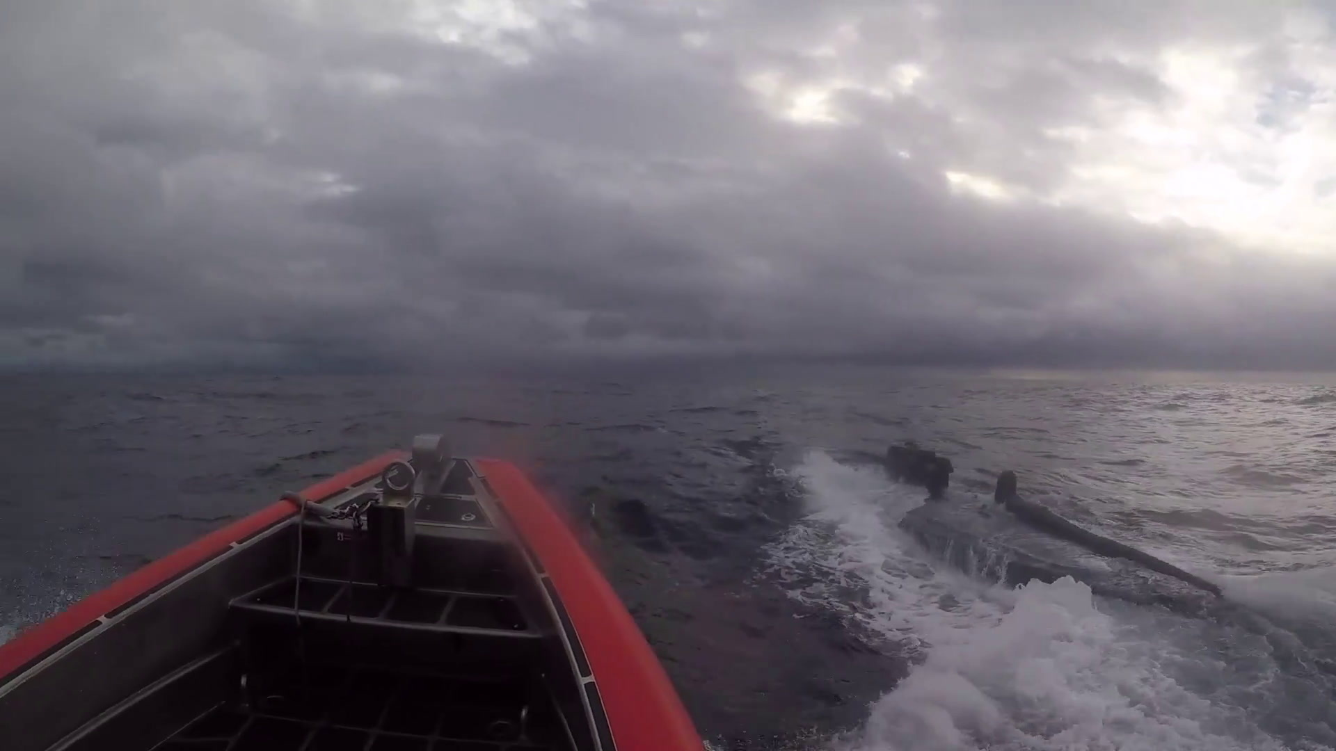 Coast Guard Member Who Boarded Moving Narco Sub To Get Award