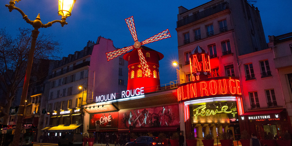 How Does the New Moulin Rouge! The Musical Compare to the Real Thing in Paris?