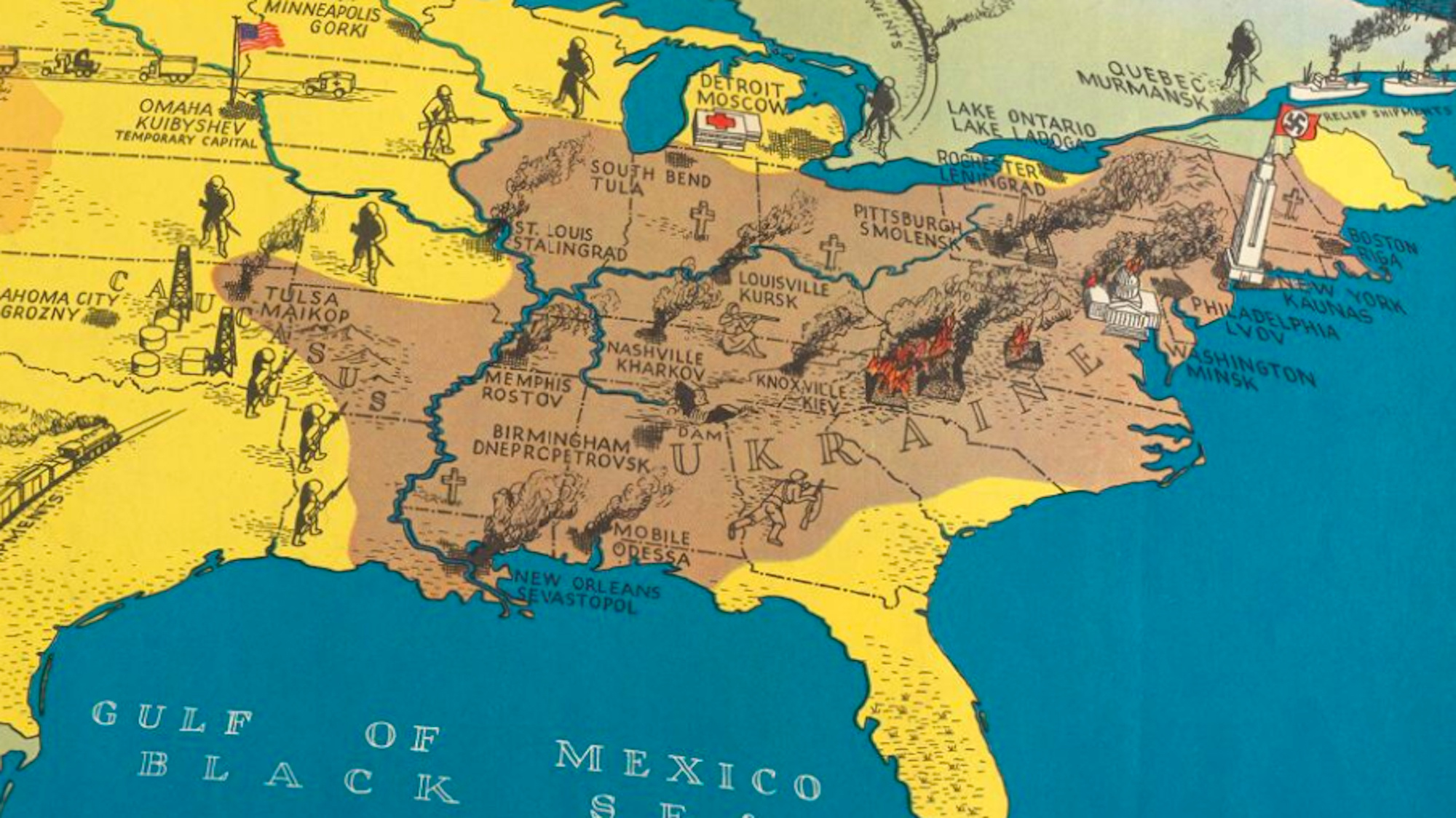 Operation Barbarossa in the USA - Big Think on map from usa, map of asia, world map usa, wind map usa, map uf usa, map id usa, map all usa, map of southwest united states, map af usa, road map usa, map de usa, map of africa, map od the sua, map of america, map of ma, map only usa, map to the usa, map united states flag, usa map map usa,