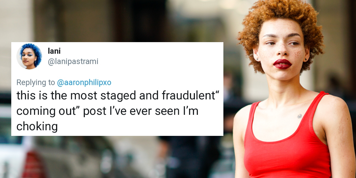 A Model Who Claimed She's Transgender After Her Transphobic Posts Resurfaced Just Admitted That She Was Actually Lying