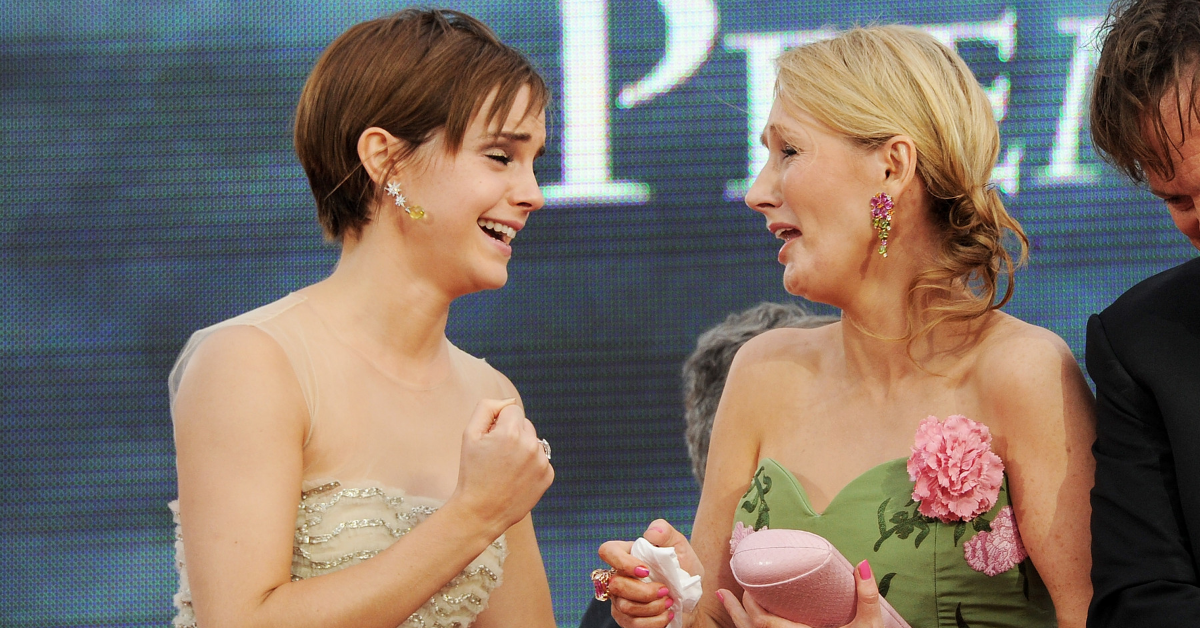 Emma Watson Just Shared An Iconic Throwback Photo To Celebrate J.K. Rowling's Birthday