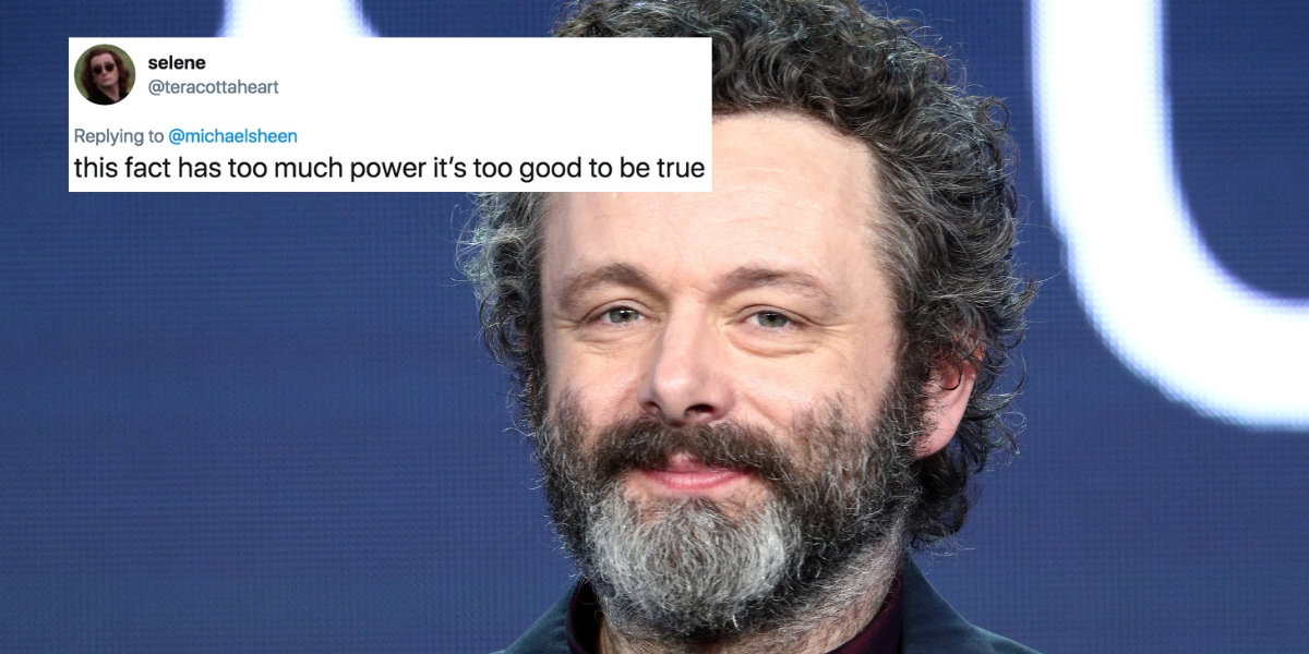 Actor Michael Sheen Just Revealed That His First Name Is Due To A Hospital Mix-Up—And It Was Destiny