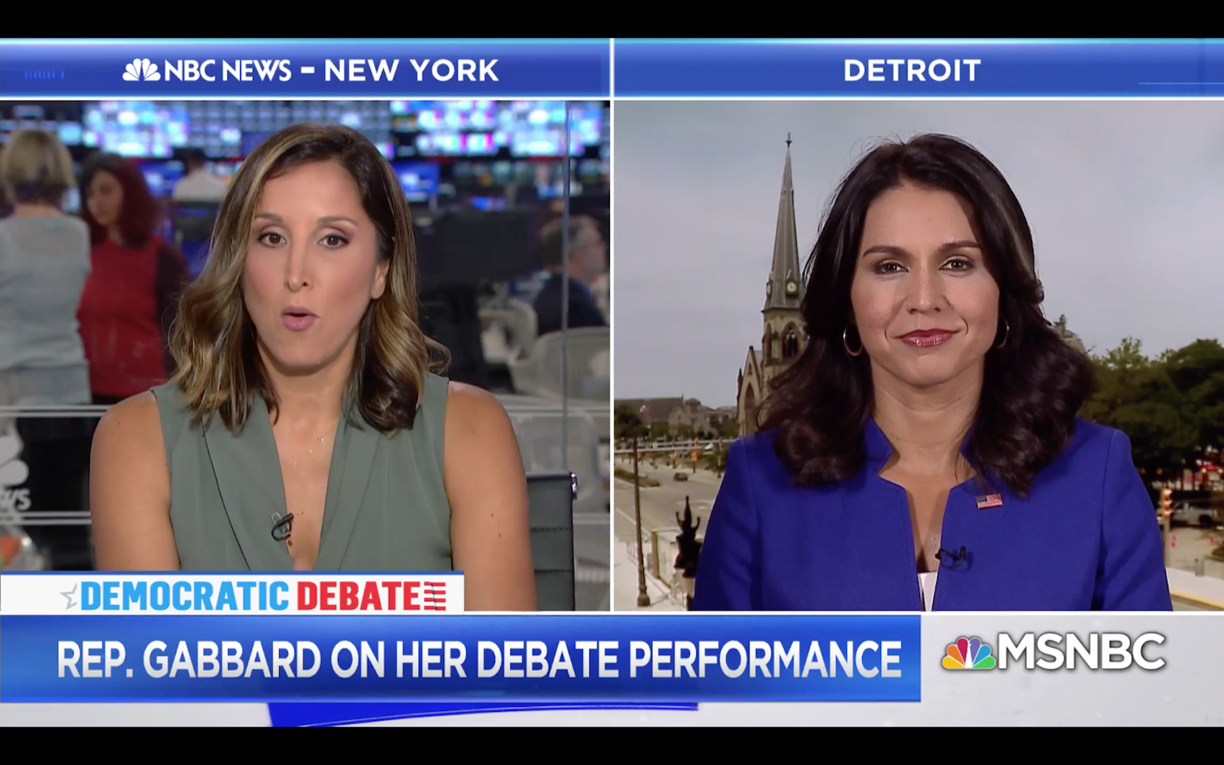 Tulsi Gabbard rips MSNBC 'propaganda' when they ask her