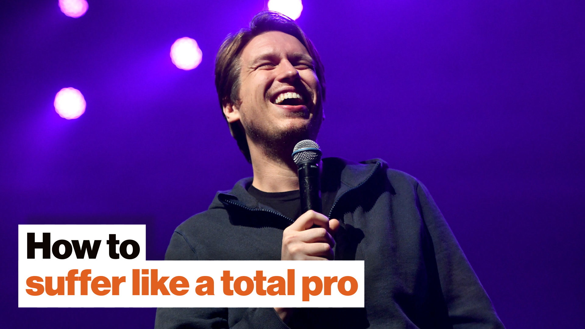 How to suffer like a total pro: Pete Holmes on ego, judgment, and feeling special