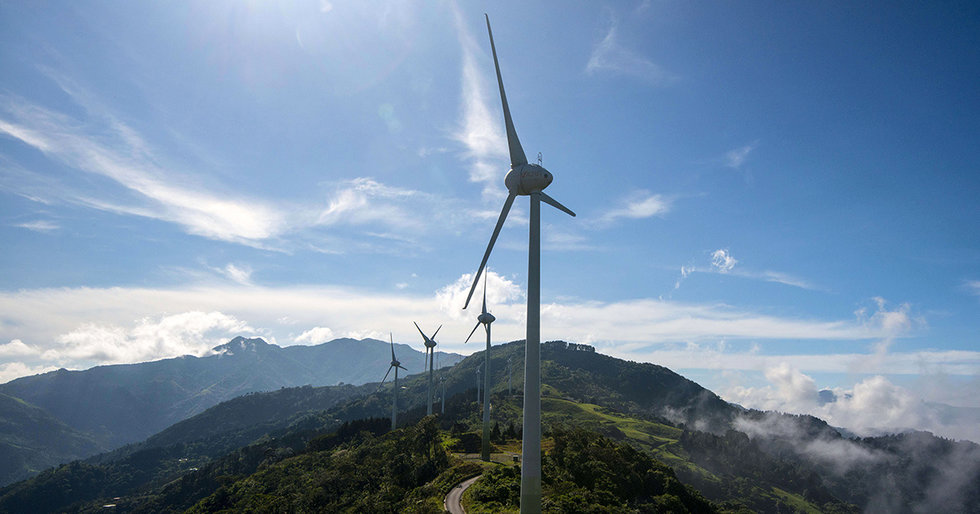 Costa Rica Powered by Nearly 100% Renewable Energy