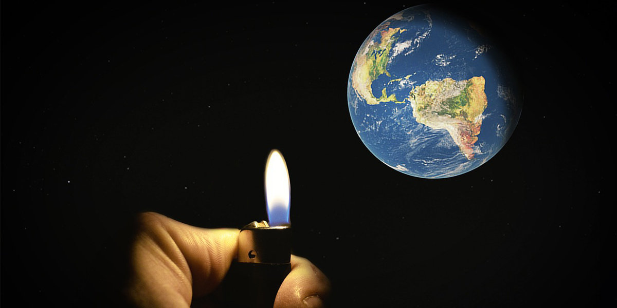 Earth's Hottest Month Lights a Fire for Progress
