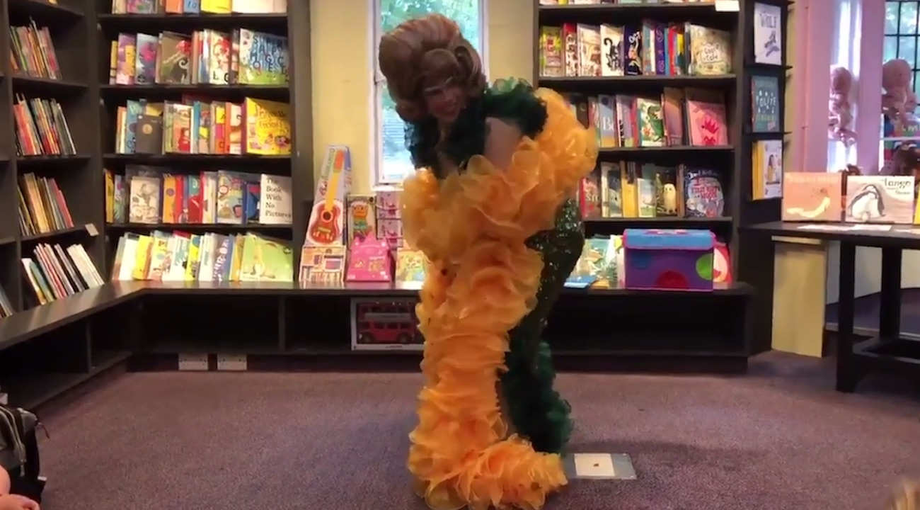Drag queen shows children how to twerk during story hour: 'Just move your bum up and down'