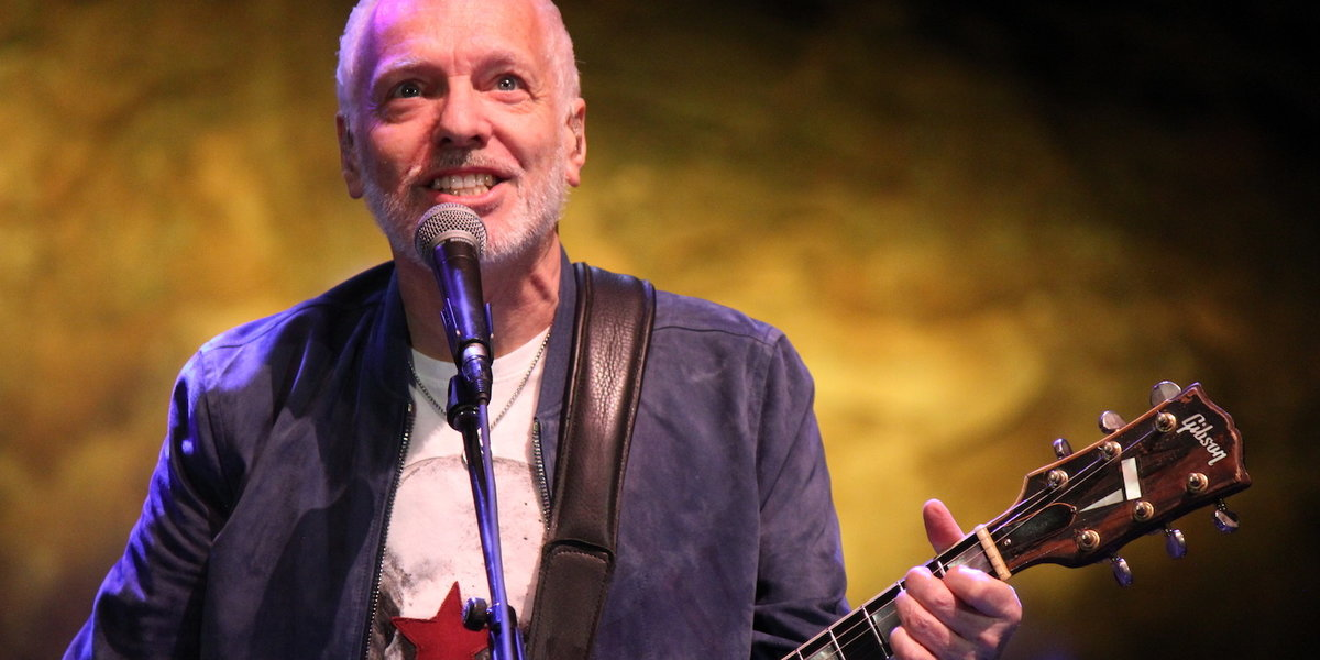Witness the Spirit of '76: Peter Frampton Comes Alive Again, 43 Years Later