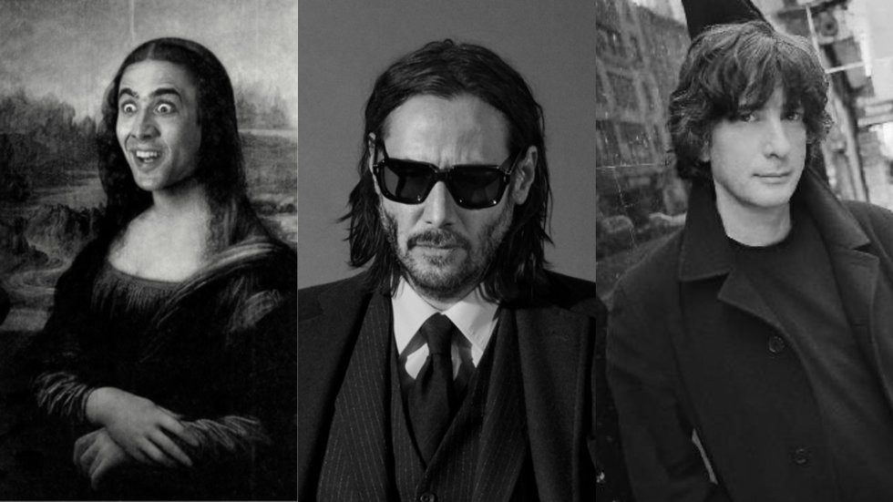 American Gods: How Keanu Reeves, Nicolas Cage, and Neil Gaiman Became the Internet's Most Beloved Men
