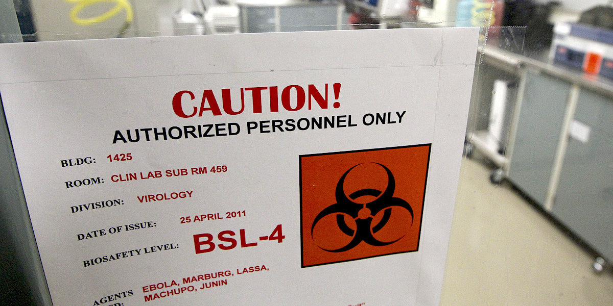 The Army biowarfare lab that tests pathogens like Ebola and the plague failed a safety inspection