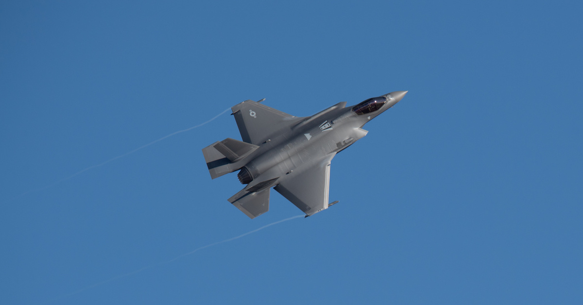 The Air Force's brand-new F-35 has already set a speed record - We