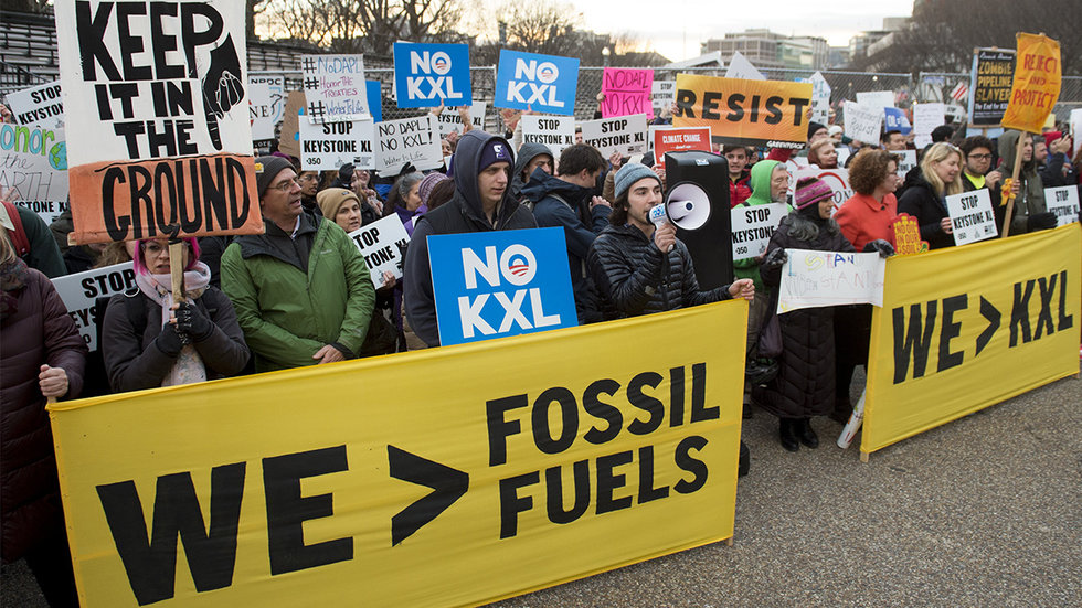 Indigenous and Green Groups Fighting Pipeline Urge 2020 Democrats to Take 'NoKXL Pledge'