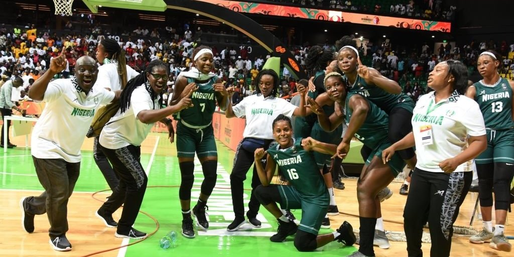 Nigeria is the 2019 Winner of the Africa Women's Basketball Championship