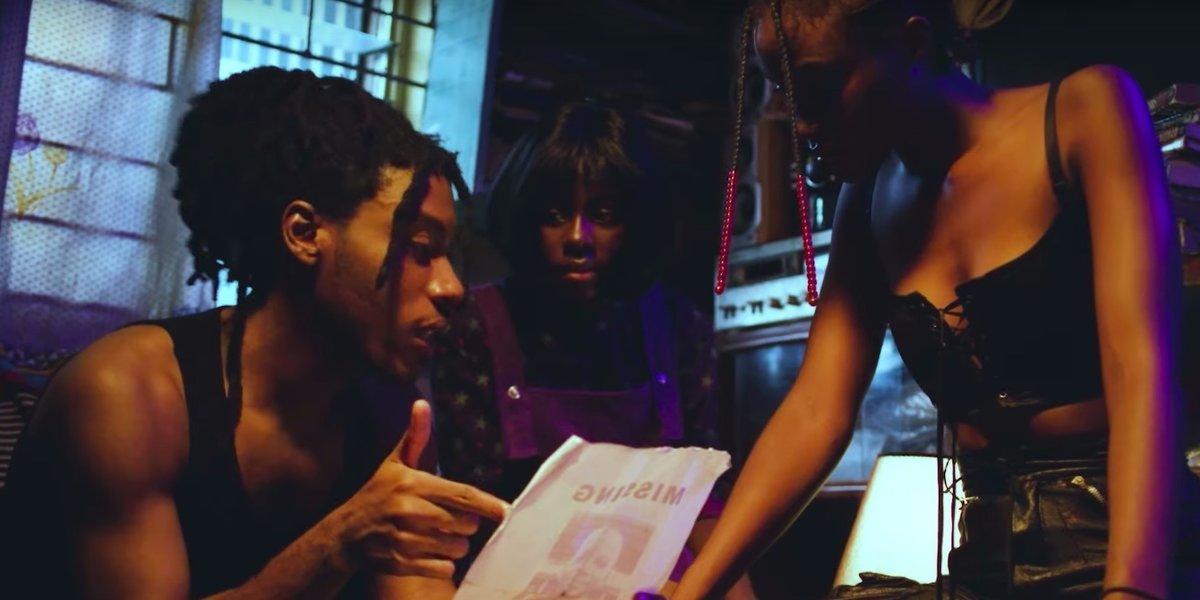 Watch Santi's Spooky Short Film for 'Raw Dinner' Featuring Kida Kudz