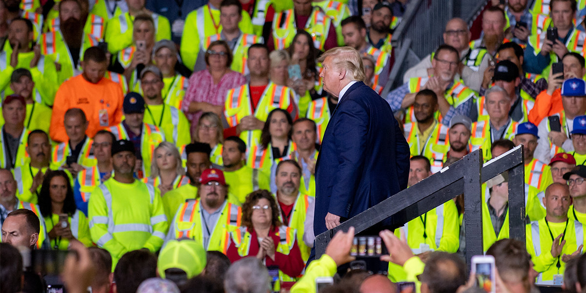 Shell Union Workers Told to Attend Trump Speech or Lose Pay