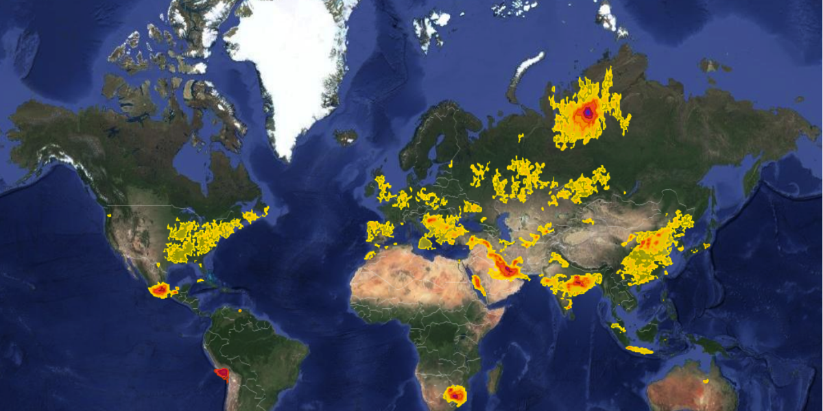'Alarming' Report Uses NASA Satellite Data to Reveal World's Toxic Air Pollution Hotspots