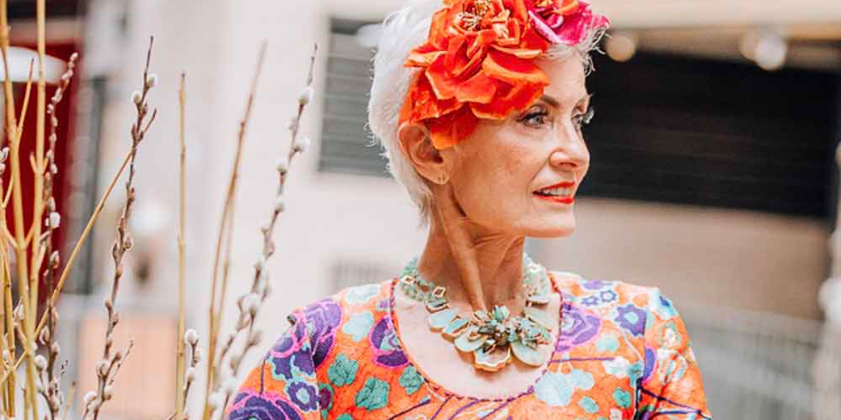 76-Year-Old 'Granfluencer' Take New York Fashion Week By Storm With Her Stylish Looks