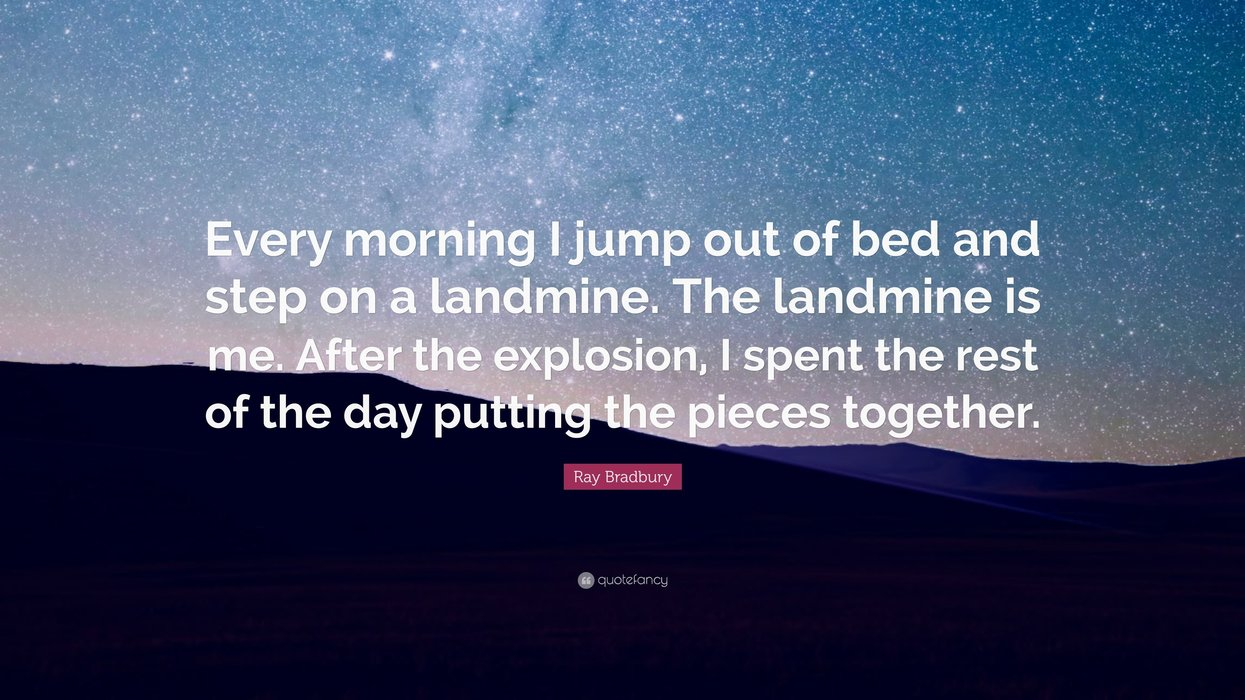 10 Ray Bradbury Quotes on Life, Loneliness, and Mars - Popdust