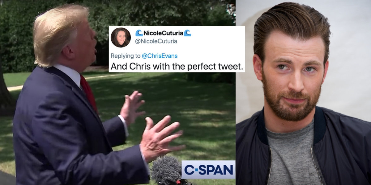 Chris Evans Perfectly Explains How Fox News Would React If Obama Said 'I Am The Chosen One'