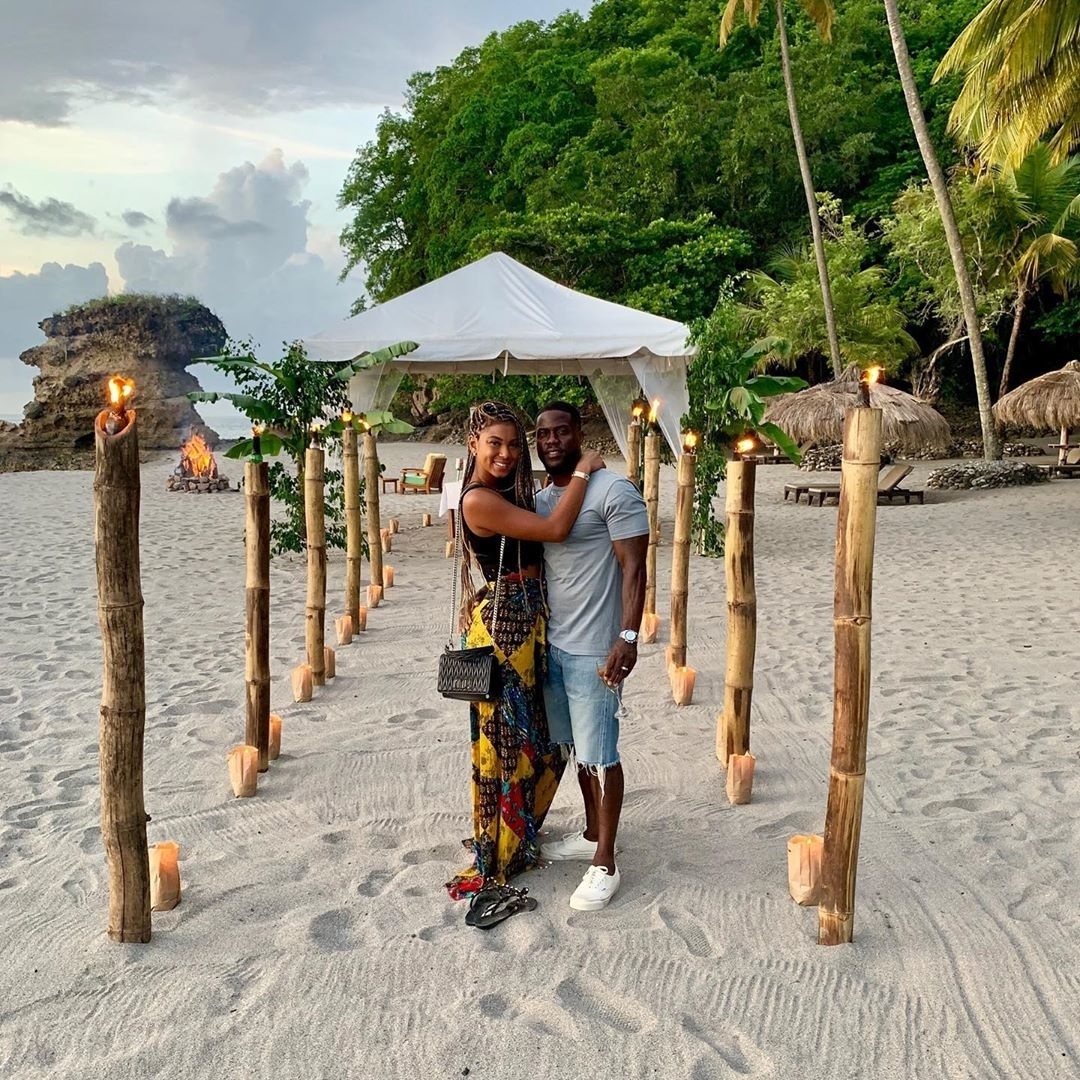 Kevin & Eniko Hart Just Had The Natural Spa Getaway Of Our Dreams In St. Lucia