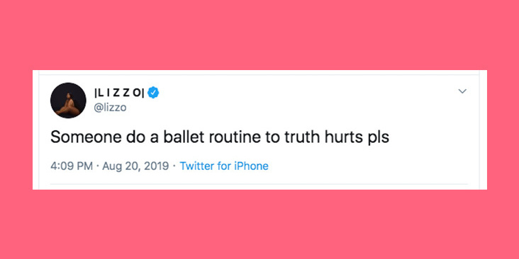 """Lizzo Challenged the Internet to Make a Ballet to """"Truth Hurts,"""" and Dancers Everywhere Are Responding"""