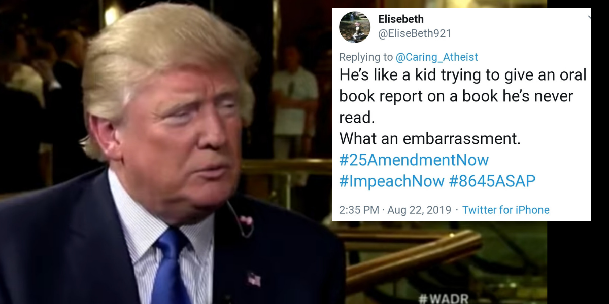 This Resurfaced Video Of Trump Dodging A Bunch Of Easy Bible Questions Is Simply Exquisite