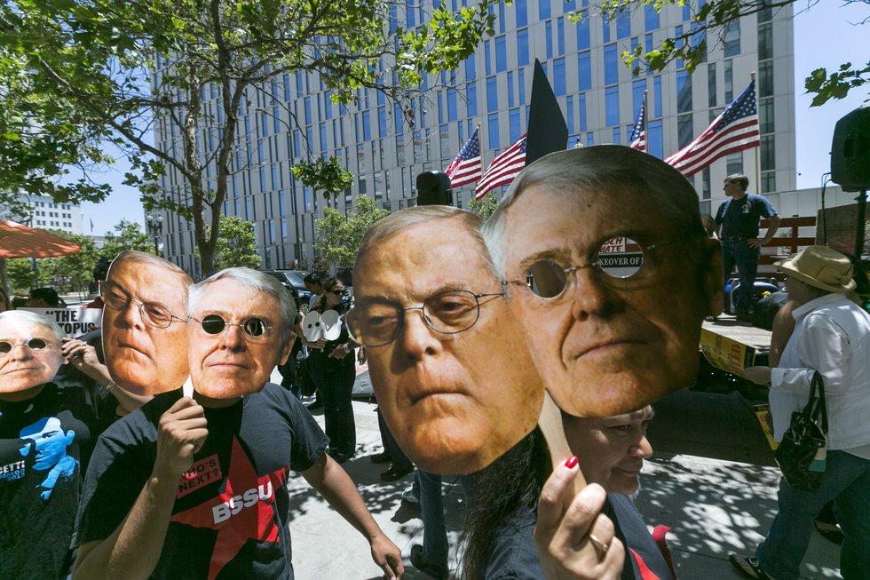 Billionaire David Koch Dead After 79-Year Battle Against Progress