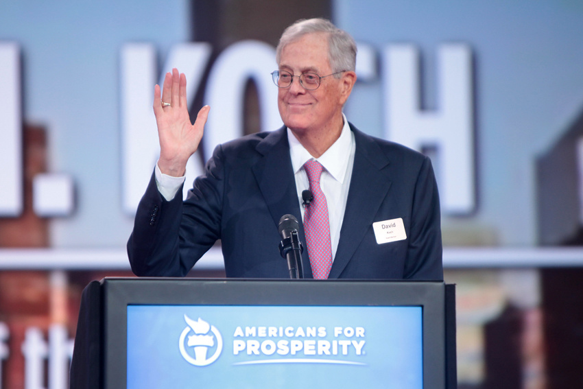 Yr Wonkette Says Only Good Things About The Dead. David Koch Is Dead. Good.
