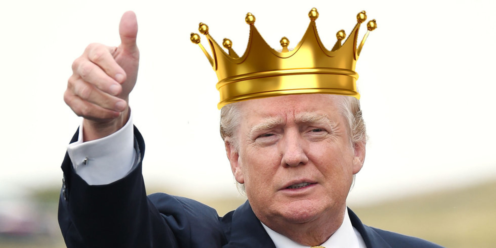KING TRUMP HEREBY ORDERS Hahahahahahahahahahaha Shut Up
