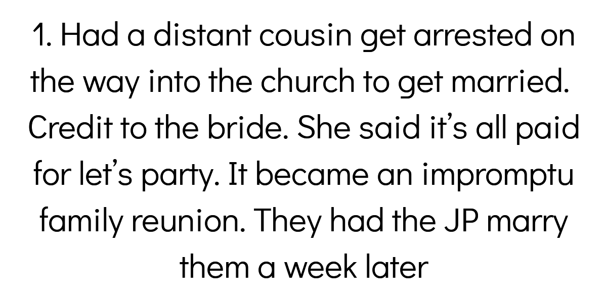 People Share The Biggest Bachelor Party Or Wedding Day Disasters They've Ever Seen