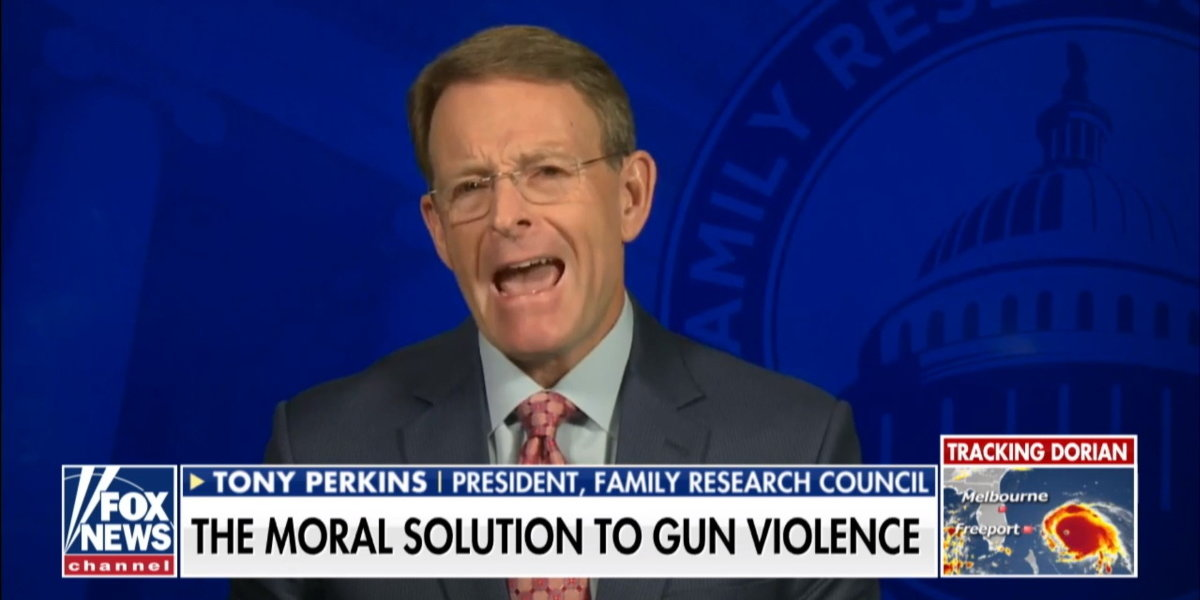 Evangelical Fundamentalist Blames Mass Shootings On Kids Being Taught Evolution In Fox News Interview