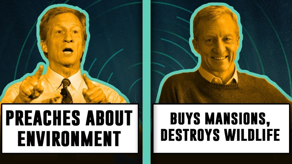 Partner Content - TOM STEYER HYPOCRISY: Next Gen Climate Advocacy or Beachfront Mansion?
