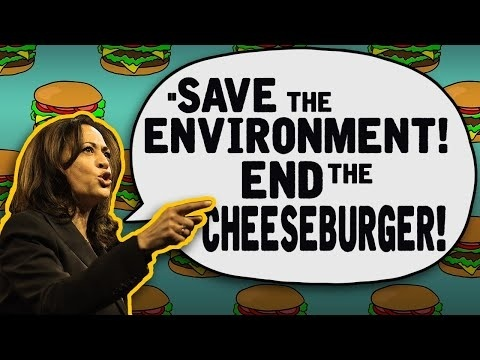 Partner Content - KAMALA HARRIS WANTS INCENTIVE TO EAT LESS MEAT: Government should encour...