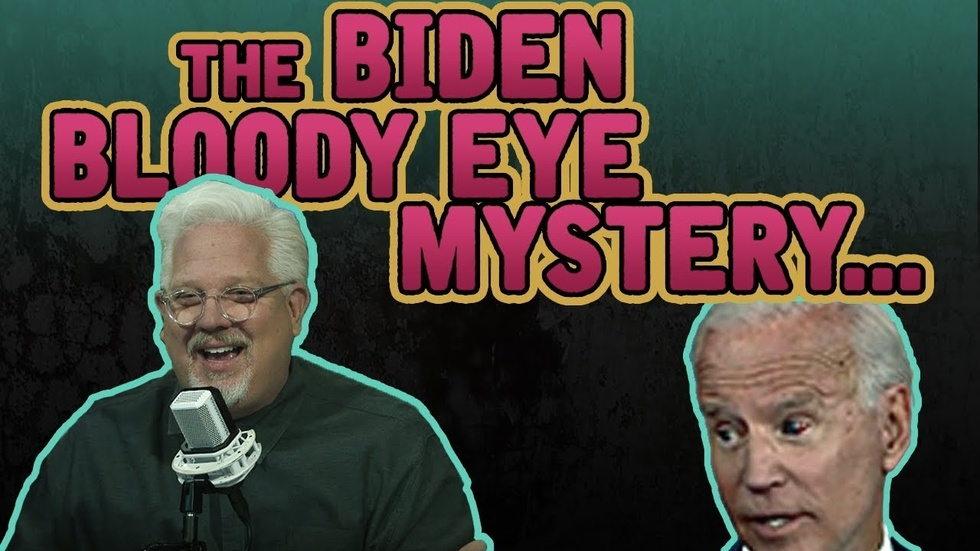 Partner Content - THE BIDEN BLOODY EYE MYSTERY: Joe also gets confused during CNN Climate ...