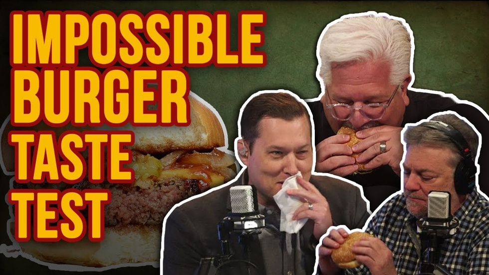 Partner Content - Impossible Burger Blind Taste Test! Can meat eaters taste the fake meat?