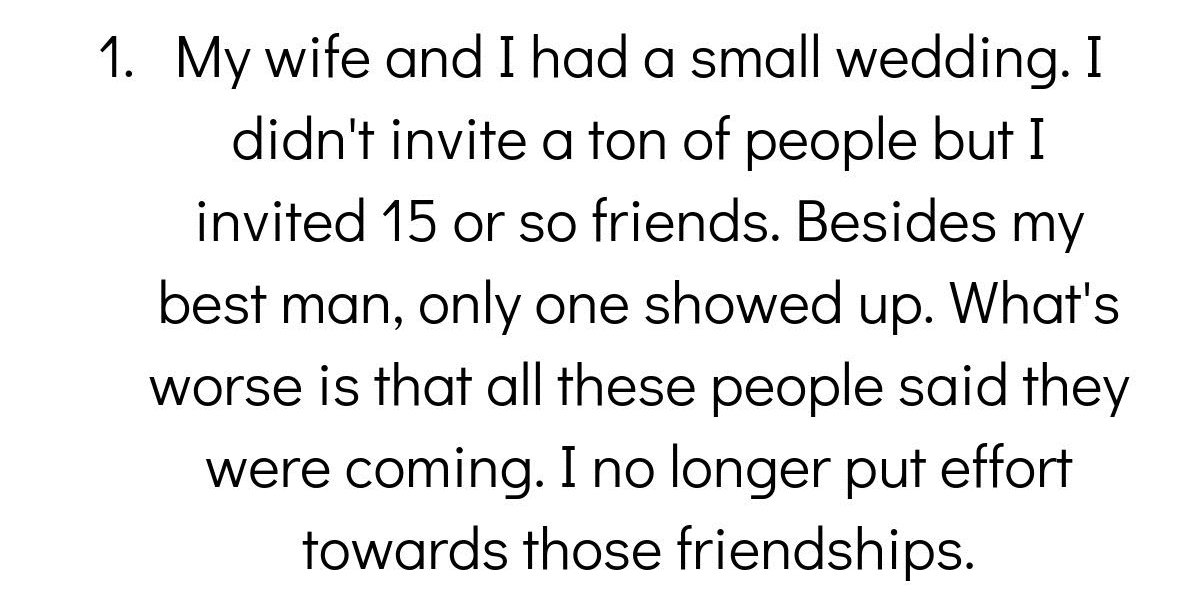 People Share Their 'These Guys Aren't Really My Friends' Stories